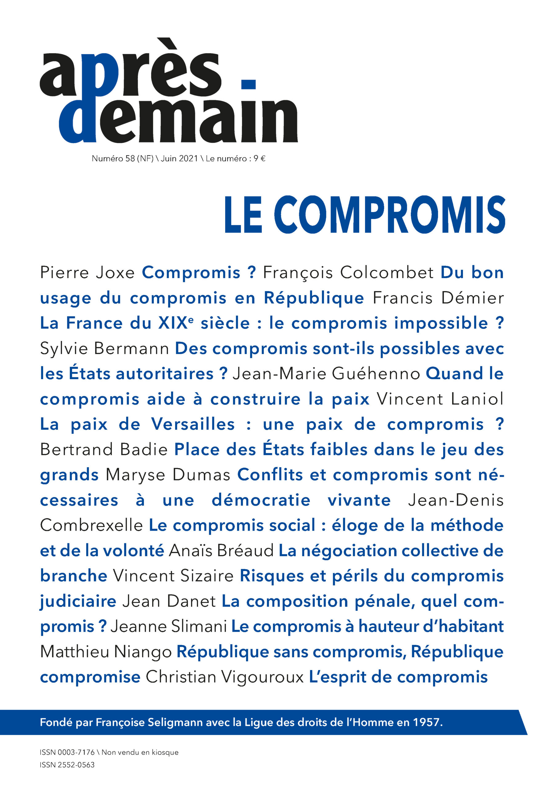 NF-058 – Le compromis